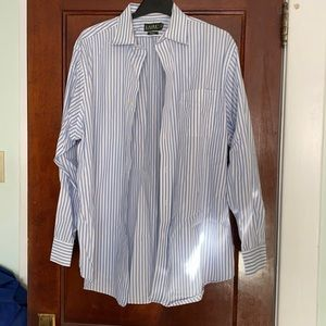 Ralph Lauren men's dress shirt; size 17.5 34/35